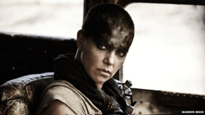 Charlize Theron as the formidable leader of a group called the Five Wives