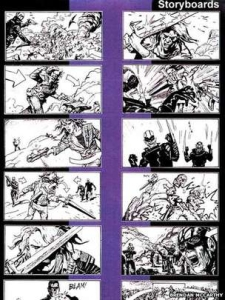 McCarthy has created storyboards for Highlander 2 and other movies