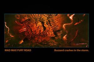 MMFR Buzzard in storm