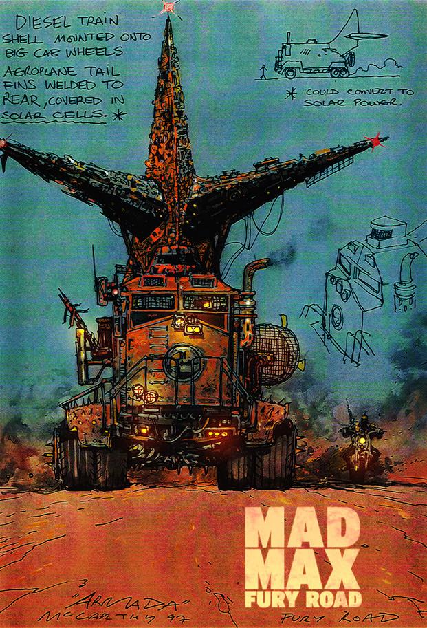 Brendan Mccarthy Mad Max Fury Road