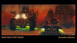 MMFR armada vehicles