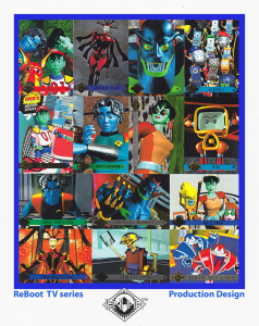 REBOOT TV SERIES