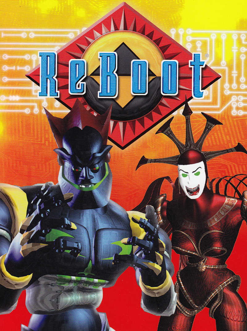 ReBoot DVD cover