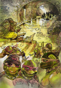 TURTLES sewers